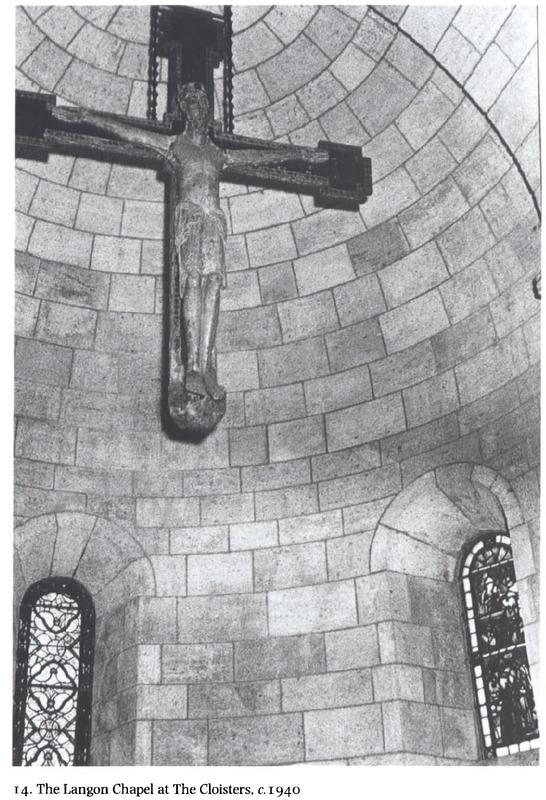 Langon Chapel CLoisters