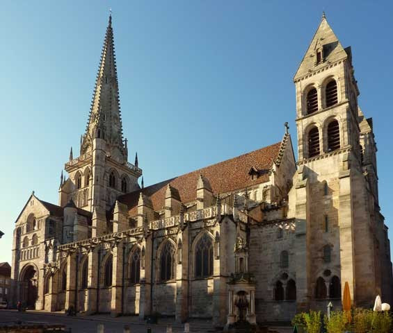 Cathedral of Saint-Lazare, Autun, France, 1120-1146