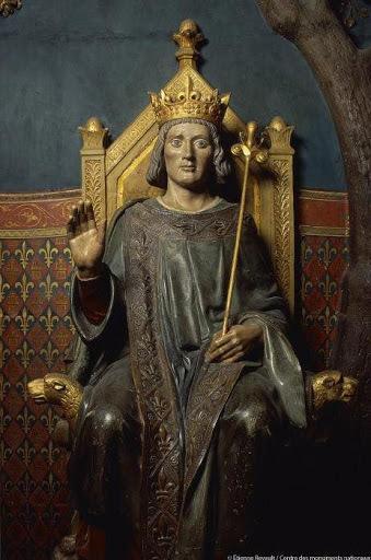 Statue of King Louis IX, also known as Saint Louis