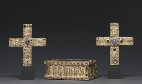 Portable Altar of Countess Gertrude and Two Crosses