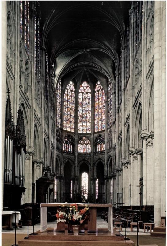 Saint-Gatien de Tours Interior